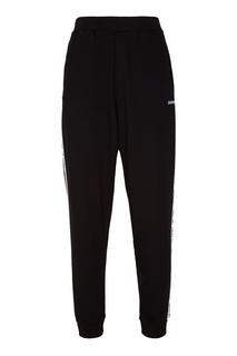 Черные брюки с лампасами Zasport