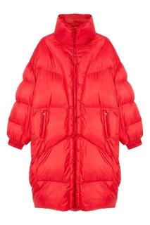 Стеганое красное пальто Cray Isabel Marant Etoile
