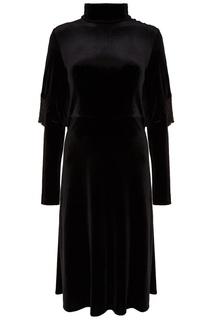Черное платье-миди ЛИ ЛУ