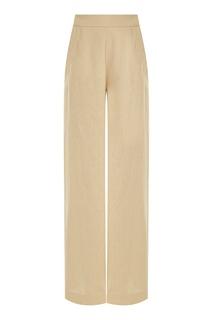 Бежевые льняные брюки Freshblood