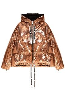 Золотистая зимняя куртка Khrisjoy