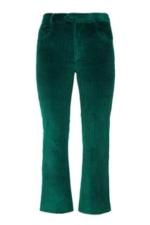Зеленые брюки из вельвета Mereo Isabel Marant