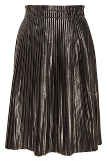 Черная плиссированная юбка We11 Done