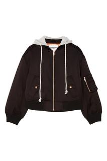 Черная куртка с капюшоном Rage Essentiel Antwerp