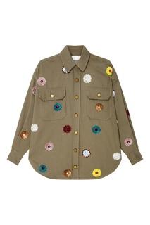 Куртка с пайетками Rafael Essentiel Antwerp