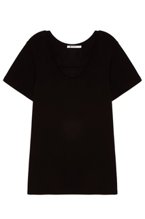 Черная футболка T by Alexander Wang