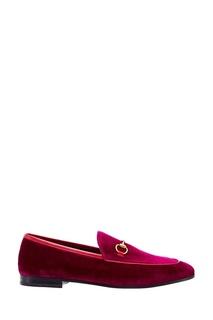 Фиолетовые лоферы Gucci