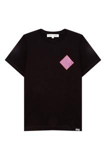 Черная футболка с принтом Proenza Schouler
