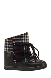 Ботинки на шнуровке Isabel Marant
