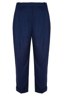 Синие укороченные брюки Akhmadullina Dreams
