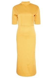 Желтое платье в горошек Kuraga