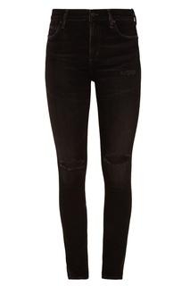 Черные джинсы с потертостями Citizens of Humanity