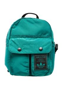 Бирюзовый рюкзак на молнии Adidas