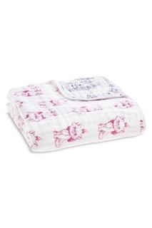 Муслиновое одеяло с ярким принтом Aden+Anais