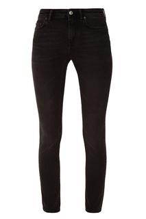 Зауженные черные джинсы Acne Studios