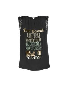 Топ без рукавов Just Cavalli