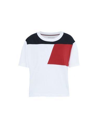 2bb9e57ac07a джерси, логотип, разноцветный узор, круглый вырез горловины, короткие рукава