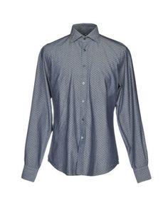 Джинсовая рубашка J.W. SAX Milano