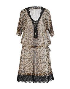 Платье до колена Roberto Cavalli Beachwear