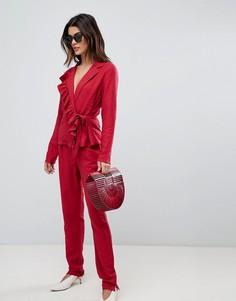 Широкие брюки Vila - Красный