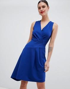 Платье с запахом Closet London - Синий