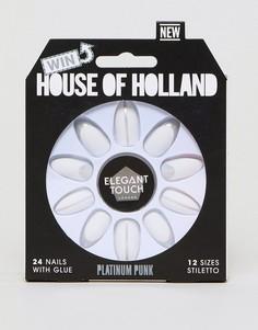 Накладные ногти House of Holland x Elegant Touch - Мульти