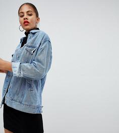 Свободная джинсовая куртка Missguided Tall - Синий