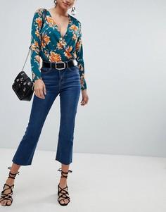 Укороченные джинсы Missguided - Синий