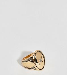 Кольцо с гравировкой Uncommon Souls - Золотой
