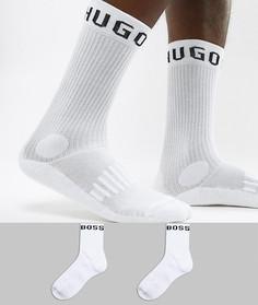 2 пары носков с логотипом BOSS - Мульти