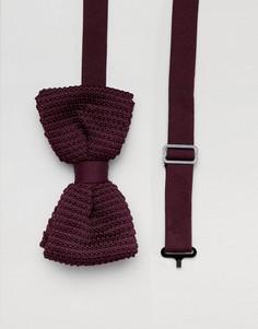 Бордовый галстук-бабочка Religion wedding - Красный