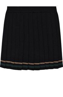 Плиссированная юбка из шерсти Aletta