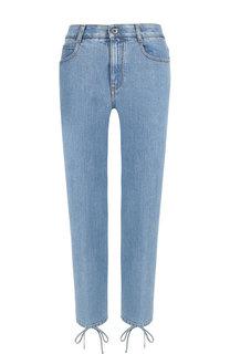 Укороченные джинсы со шнуровкой Stella McCartney