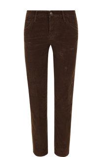Однотонные укороченные брюки прямого кроя Dsquared2