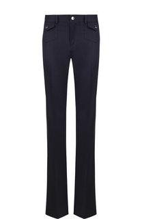 Расклешенные шерстяные брюки со стрелками REDVALENTINO
