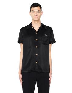 Черная рубашка с вышивкой Visvim