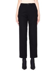 Черные шерстяные брюки Y`s