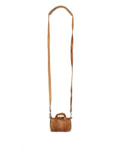 Бежевая кожаная мини-сумка Hender Scheme