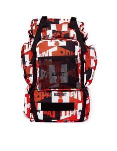 Рюкзак из текстиля с принтом ГОША РУБЧИНСКИЙ