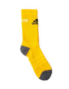 Желтые носки Adidas ГОША РУБЧИНСКИЙ
