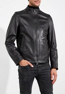 Куртка кожаная Boss Hugo Boss