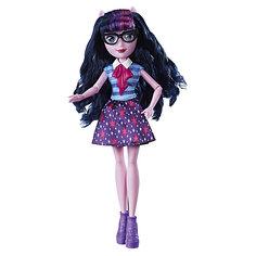 "Кукла Equestria Girls ""Классический стиль"" Твайлайт Спаркл (Искорка), 28 см Hasbro"