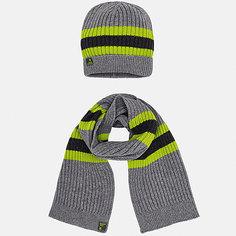 Комплект: Шапка и шарф Mayoral для мальчика