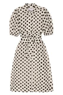 Платье-рубашка в горошек Lisa Marie Fernandez