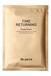 Антивозрастная маска с муцином улитки Time Returning Mask Pack (10х20 g) Dr.Jart+