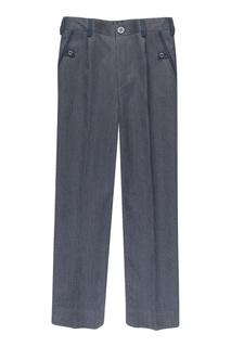Серые брюки из шерсти Jacote