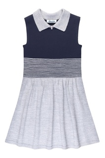 Трикотажное комбинированное платье Jacote