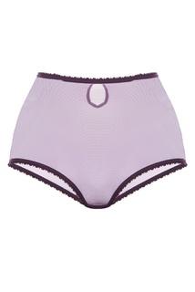 Высокие фиолетовые шортики Basic Petra