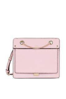 Розовая сумка из кожи Like Furla