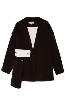 Черная куртка oversize Ruban